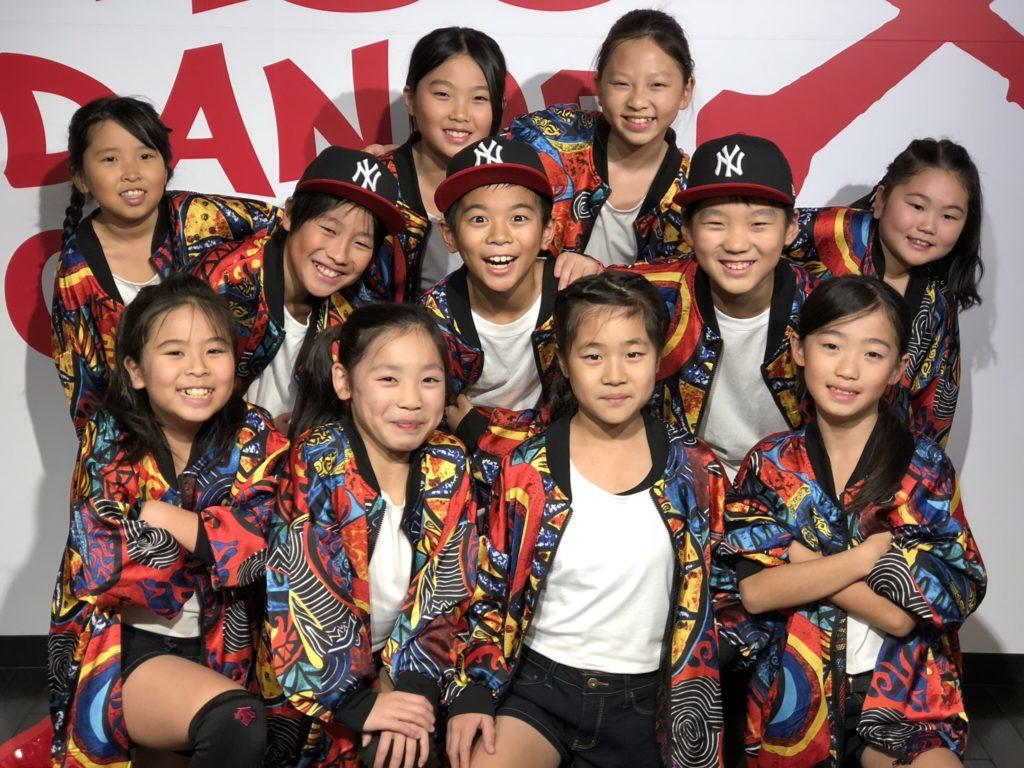 キッズダンス 小学校低高学年 荒川区のHIPHOPキッズダンス